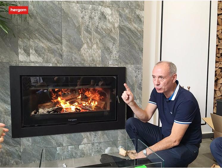 燃木壁炉冷凝水